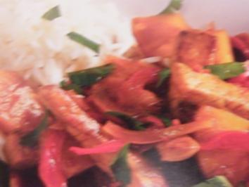 Schweinefleisch süßsauer - Rezept