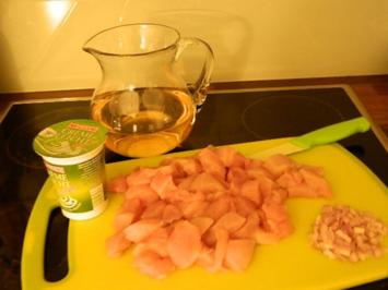 Hähnchen - Geschnetzeltes - Rezept