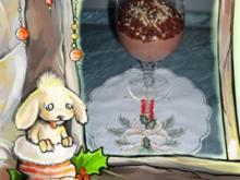 Dessert : Schoko Pudding mit Marzipan und Hicks ))))))) - Rezept