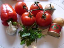 Pikanter Tomaten-Dip - Rezept