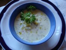 Hackfleisch-Lauch-Suppe - Rezept