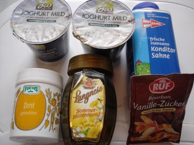 Joghurt-Zimt-Sauce - Rezept - Bild Nr. 2