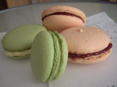 Sabina's Matcha Macarons - Rezept