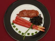 Hühnerbrust Tandoori mit rotem Spargel - ost-westliche Liason (Sibylle Nicolai) - Rezept