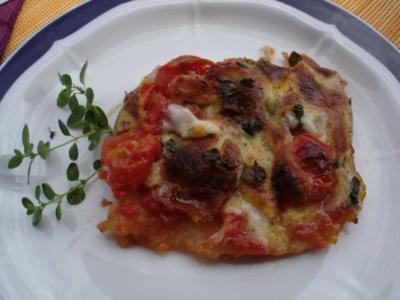 Kartoffel-Pizza - Rezept