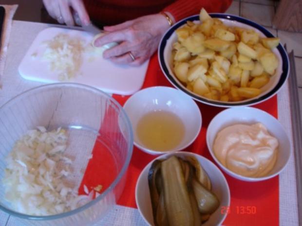 Kartoffelsalat mit Mayonnaise - Rezept - Bild Nr. 12