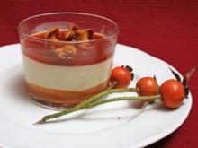Dreierlei mit süß eingelegten Pfifferlingen und Semmelstoppelpilzen - Rezept