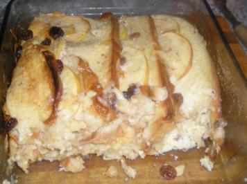 Apfel-Scheiterhaufen - Rezept