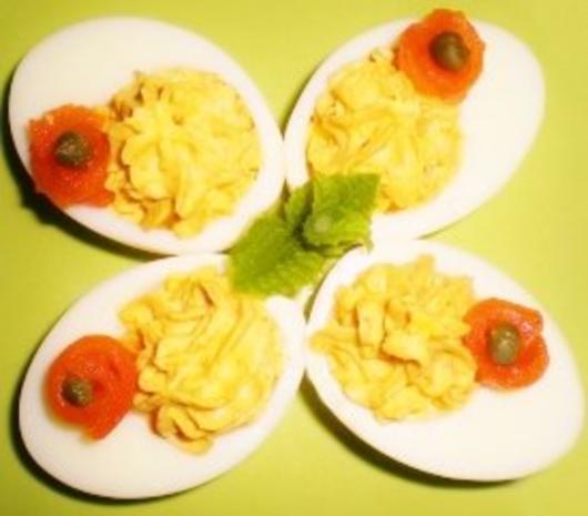 Russische Eier mit Tomatenfüllung - Rezept - Bild Nr. 2
