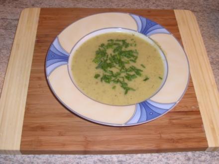 Vegetarische Gemüsesuppe - Rezept
