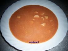 Kochen: Käse-Tomaten-Suppe - Rezept