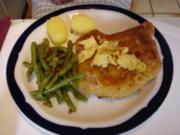 Kotelett mit Speckbohnen und Kartoffeln - Rezept