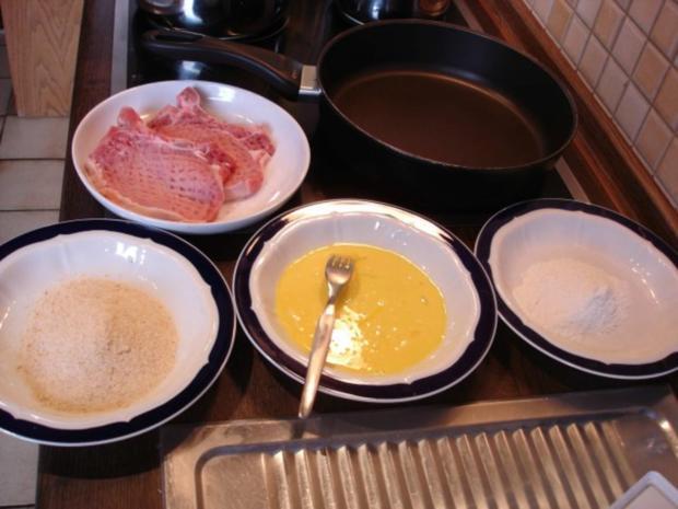 Kotelett mit Speckbohnen und Kartoffeln - Rezept - Bild Nr. 7