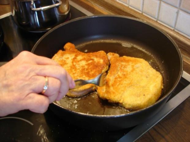 Kotelett mit Speckbohnen und Kartoffeln - Rezept - Bild Nr. 10