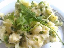 Rucola Kartoffelstampf - Rezept