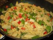 Asiatisches Gemüse-Kokos-Nudel-Curry - Rezept