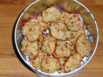 -Plätzchen-Kokosmakronen - Rezept