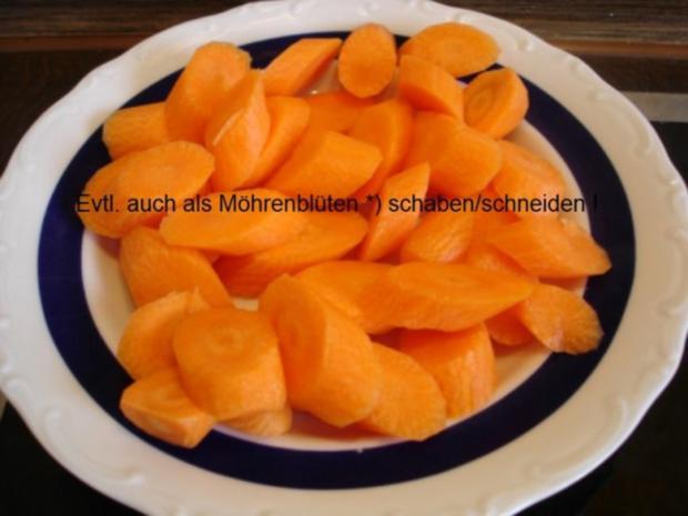 Kotelett mit Möhrengemüse und Kartoffeln - Rezept - Bild Nr. 5