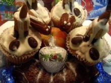 Cupcakes-Candle  - Weihnachts-Kerzen-Muffin - Rezept