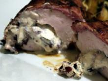 Mit Cranberries gefüllte Hähnchenbrust - Rezept