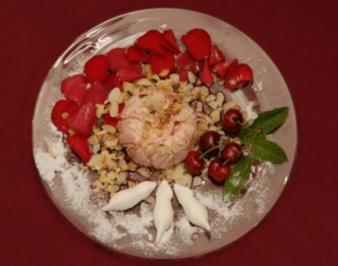 Kirschparfait mit gerösteten Mandeln - Kirschlicher Segen (Sibylle Nicolai) - Rezept
