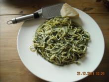 Spinat-Pasta - Rezept