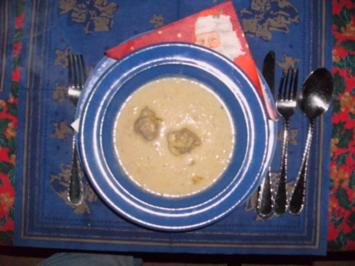 Käse-Lauchcremesuppe - Rezept