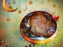 Geflügel : Putenkeule mit Glühwein..... - Rezept