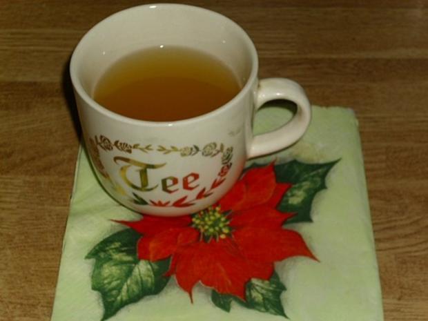 Punsch Tee - Rezept
