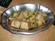 China-Menü: Mapo Doufu (Tofu) - Rezept
