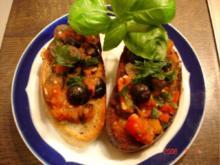 Tomaten-Oliven-Crostini - Rezept