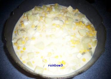Salat: Kartoffelsalat mit dreierlei Käse - Rezept