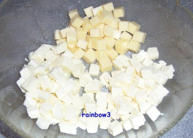 Salat: Kartoffelsalat mit dreierlei Käse - Rezept - Bild Nr. 4