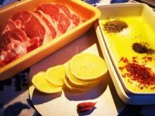 Zitronen-Lamm mit grünen Bohnen ... - Rezept