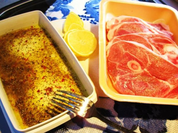 Zitronen-Lamm mit grünen Bohnen ... - Rezept - Bild Nr. 3