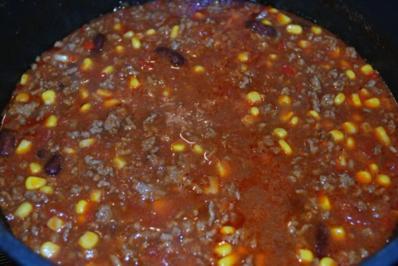Chili Con Carne Mit Chilischoten Und Mais Rezepte Kochbarde