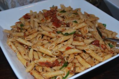 Nudelsalat á la Pesto rosso - Rezept