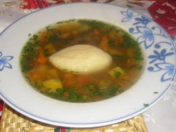 Rezept: Ochsenschleppsuppe