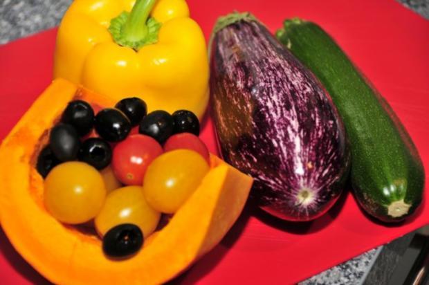 Dorade auf Ofengemüse mit Zitronenaioli - Rezept - Bild Nr. 5