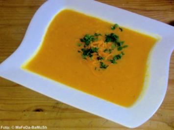 Rezept: Karotten-Orangen-Suppe