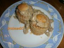 Ragout fin in Blätterteig Pasteten - Rezept