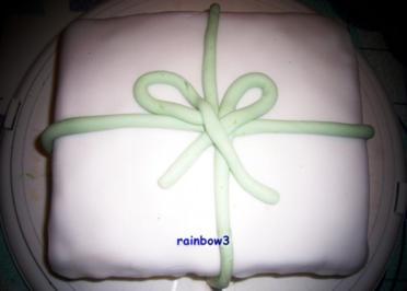 Backen: Geschenk-Torte - Rezept