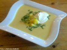 Kartoffel-Knoblauch-Creme-Suppe - Rezept