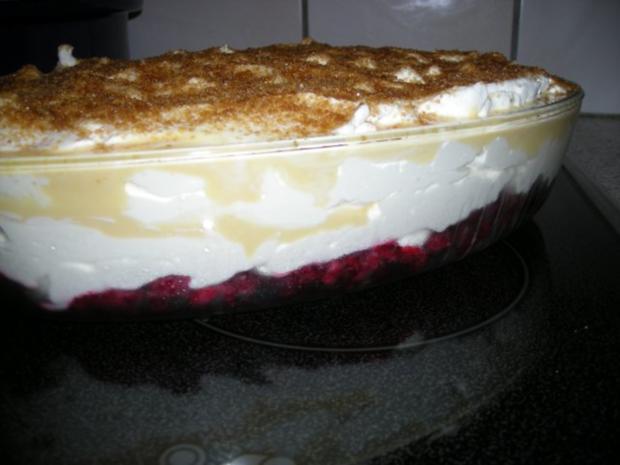 Dessert mit Himbeeren - Rezept - Bild Nr. 2