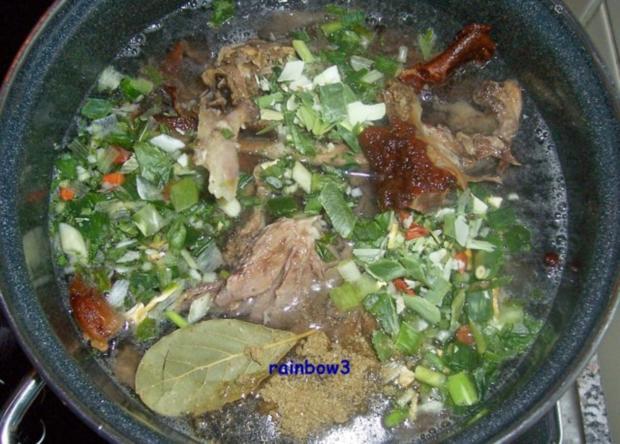 Kochen: Enten-Brühe - Rezept - Bild Nr. 2