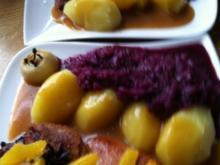 Knusper-Ente mit Orangen-Soße.. jetzt a.la. Sascha ;-)) - Rezept