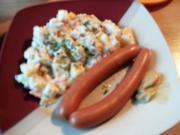 Kartoffelsalat mit Wienerle - Rezept