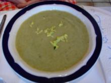 Staudensellerie-Creme-Suppe - Rezept