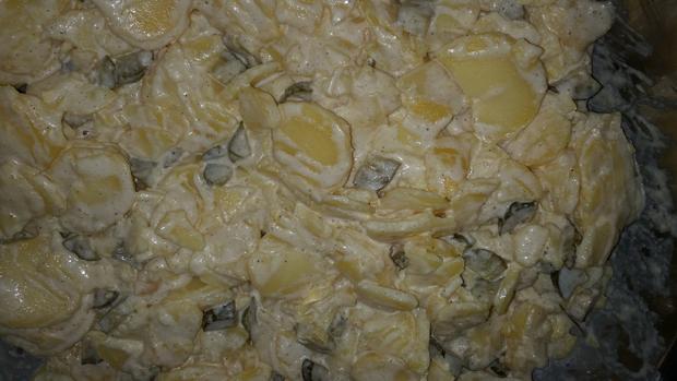 Salate: Kartoffelsalat mit Mayonaise - Rezept - Bild Nr. 1684