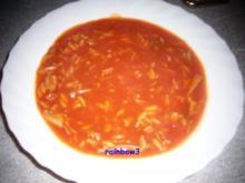 Kochen: Enten-Tomaten-Suppe - Rezept